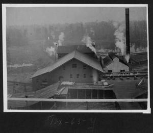 Primary view of object titled '[Southern Pine Lumber Company Sawmill Aerial View]'.