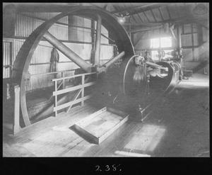 Primary view of object titled '[Corliss Steam Sawmill Engine]'.