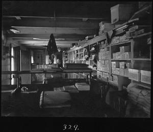 Primary view of object titled '[Camp 2 Store Interior]'.