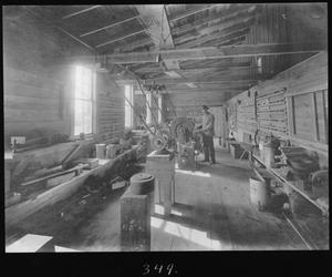 [Filing and Tool Room in the Planing Mill]