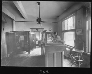 Primary view of object titled '[Southern Pine Lumber Company Bookkeeper's Room]'.