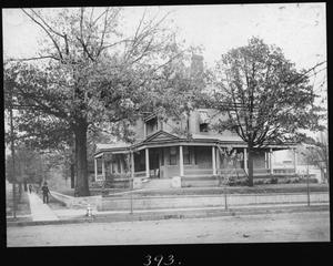 [Thomas Lewis Latane Temple Home - from West]