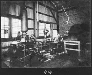 Primary view of object titled '[Southern Pine Lumber Company Sawmill 2 Engine Room]'.