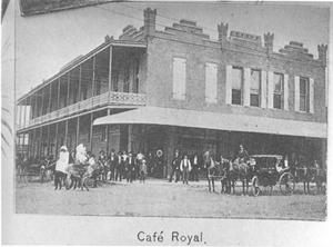 Primary view of object titled 'Cafe Royal'.