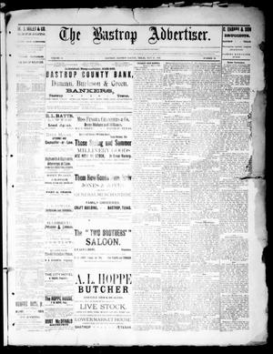 Primary view of object titled 'The Bastrop Advertiser (Bastrop, Tex.), Vol. 32, No. 13, Ed. 1 Saturday, May 11, 1889'.
