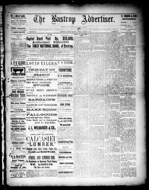 Primary view of object titled 'The Bastrop Advertiser (Bastrop, Tex.), Vol. 33, No. 28, Ed. 1 Saturday, August 9, 1890'.