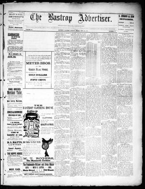 Primary view of object titled 'The Bastrop Advertiser (Bastrop, Tex.), Vol. 34, No. 33, Ed. 1 Saturday, September 19, 1891'.