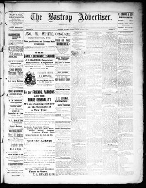 Primary view of object titled 'The Bastrop Advertiser (Bastrop, Tex.), Vol. 34, No. 46, Ed. 1 Saturday, March 5, 1892'.