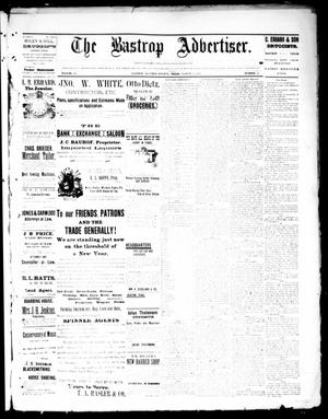 Primary view of object titled 'The Bastrop Advertiser (Bastrop, Tex.), Vol. 34, No. 48, Ed. 1 Saturday, March 19, 1892'.