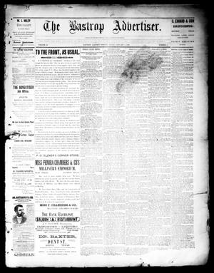 Primary view of object titled 'The Bastrop Advertiser (Bastrop, Tex.), Vol. 39, No. 1, Ed. 1 Saturday, January 5, 1895'.