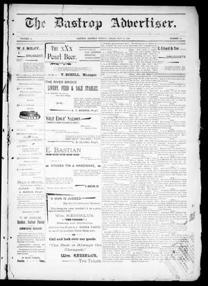 Primary view of object titled 'The Bastrop Advertiser (Bastrop, Tex.), Vol. 44, No. 21, Ed. 1 Saturday, May 23, 1896'.