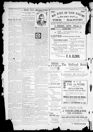 Primary view of object titled 'The Bastrop Advertiser (Bastrop, Tex.), Vol. 45, No. 1, Ed. 1 Saturday, January 2, 1897'.