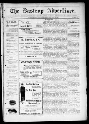 Primary view of object titled 'The Bastrop Advertiser (Bastrop, Tex.), Vol. 46, No. 20, Ed. 1 Saturday, July 30, 1898'.