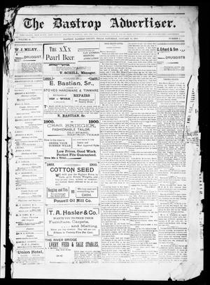 The Bastrop Advertiser (Bastrop, Tex.), Vol. 48, No. 2, Ed. 1 Saturday, January 13, 1900