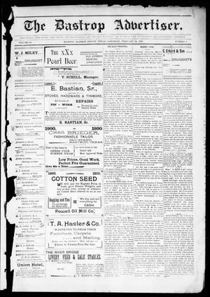 Primary view of object titled 'The Bastrop Advertiser (Bastrop, Tex.), Vol. 48, No. 8, Ed. 1 Saturday, February 24, 1900'.