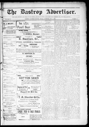 Primary view of object titled 'The Bastrop Advertiser (Bastrop, Tex.), Vol. 48, No. 18, Ed. 1 Saturday, May 5, 1900'.