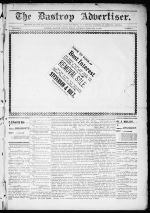 Primary view of object titled 'The Bastrop Advertiser (Bastrop, Tex.), Vol. 49, No. 8, Ed. 1 Saturday, February 22, 1902'.