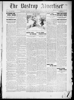 Primary view of object titled 'The Bastrop Advertiser (Bastrop, Tex.), Vol. 64, No. 41, Ed. 1 Friday, February 2, 1917'.