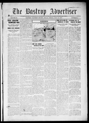 Primary view of object titled 'The Bastrop Advertiser (Bastrop, Tex.), Vol. 65, No. 4, Ed. 1 Friday, May 18, 1917'.