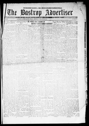 Primary view of The Bastrop Advertiser (Bastrop, Tex.), Vol. 69, No. 30, Ed. 1 Thursday, February 23, 1922