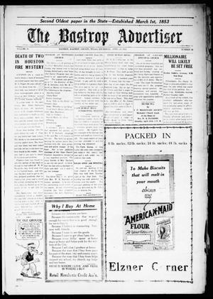 Primary view of object titled 'The Bastrop Advertiser (Bastrop, Tex.), Vol. 71, No. 38, Ed. 1 Thursday, April 24, 1924'.