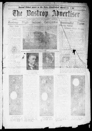 Primary view of object titled 'The Bastrop Advertiser (Bastrop, Tex.), Vol. 71, No. 42, Ed. 1 Thursday, May 22, 1924'.