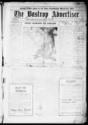 Primary view of object titled 'The Bastrop Advertiser (Bastrop, Tex.), Vol. 71, No. 43, Ed. 1 Thursday, May 29, 1924'.