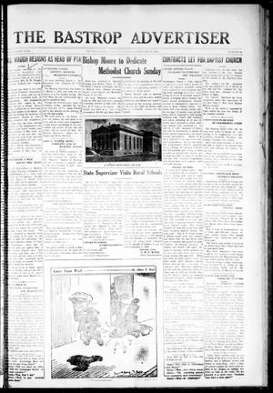Primary view of object titled 'The Bastrop Advertiser (Bastrop, Tex.), Vol. 76, No. 40, Ed. 1 Thursday, February 27, 1930'.