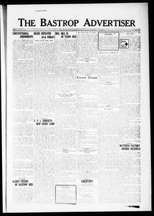 Primary view of object titled 'The Bastrop Advertiser (Bastrop, Tex.), Vol. 81, No. 32, Ed. 1 Thursday, November 1, 1934'.