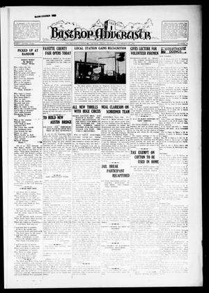 Primary view of object titled 'Bastrop Advertiser (Bastrop, Tex.), Vol. 82, No. 27, Ed. 1 Thursday, September 26, 1935'.