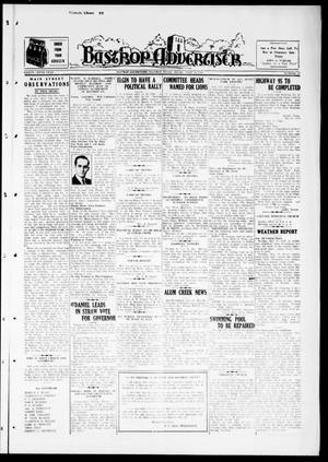 Primary view of object titled 'Bastrop Advertiser (Bastrop, Tex.), Vol. 85, No. 17, Ed. 1 Thursday, July 14, 1938'.