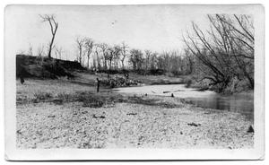 Primary view of object titled '[Photograph of White Rock Creek]'.