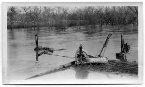 Primary view of object titled '[Photograph of a Water Pump at White Rock Lake]'.