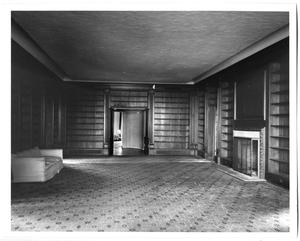 Primary view of object titled '[Photograph of the Oak Room at the DeGolyer Estate]'.