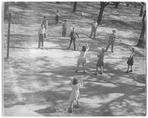 Primary view of object titled '[Photograph of a Volleyball Game]'.