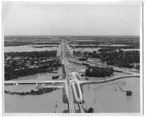 Primary view of object titled '[Photograph of a City Flood]'.