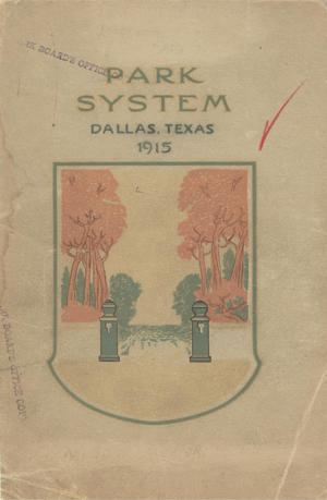 Primary view of object titled 'Dallas City Park Board Annual Report: 1914-1915'.