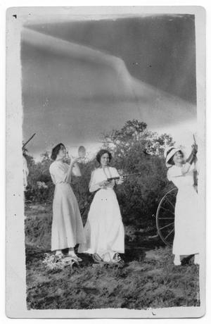Primary view of object titled '[Women posing with rifles]'.