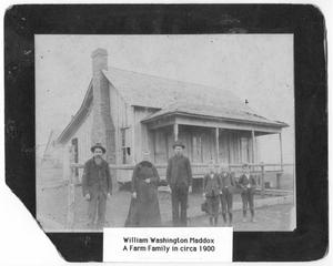 Primary view of object titled '[William Washington Maddox family]'.