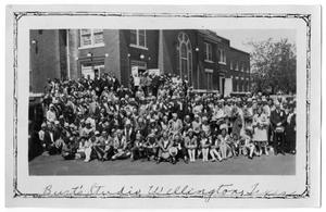 Primary view of object titled '[Baptist Associational meeting]'.