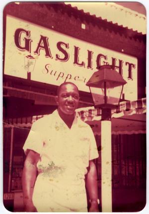Sanford B. Williams, Sr. at Gaslight Diner