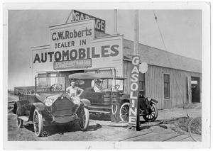 Primary view of object titled '[Automobile dealer]'.