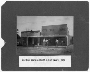 Primary view of object titled '[City Drug Store]'.