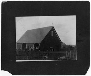 Primary view of object titled '[Animal and crop storage barn]'.