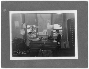 Primary view of object titled '[Collingsworth County Clerk's Office]'.