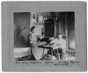 Primary view of [George Kelley Telephone Office]