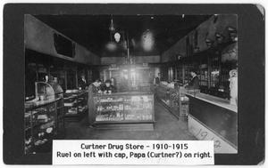 Primary view of object titled '[Curtner Drug Store]'.