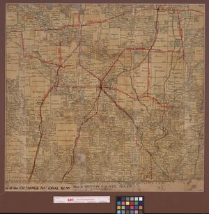 Primary view of object titled 'Map of Denton County, Texas : showing names of original grantees.'.