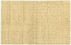 Primary view of object titled '[Letter from Charles Moore to Josephus Moore, February 29, 1864]'.