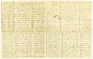 Primary view of object titled '[Letter from Charles Moore to Josephus Moore, March 13, 1864]'.